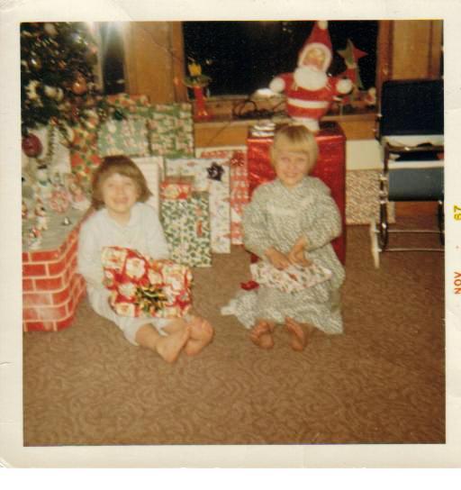 1960's Vintage Christmas Eve