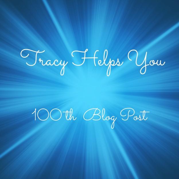 100th Blog Post ~ New Logo
