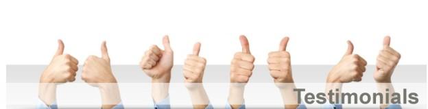 Client Comments & Testimonials