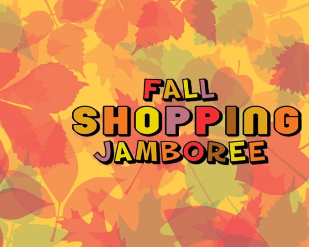 Thankful to be a part of the Fall Shopping Jamboree
