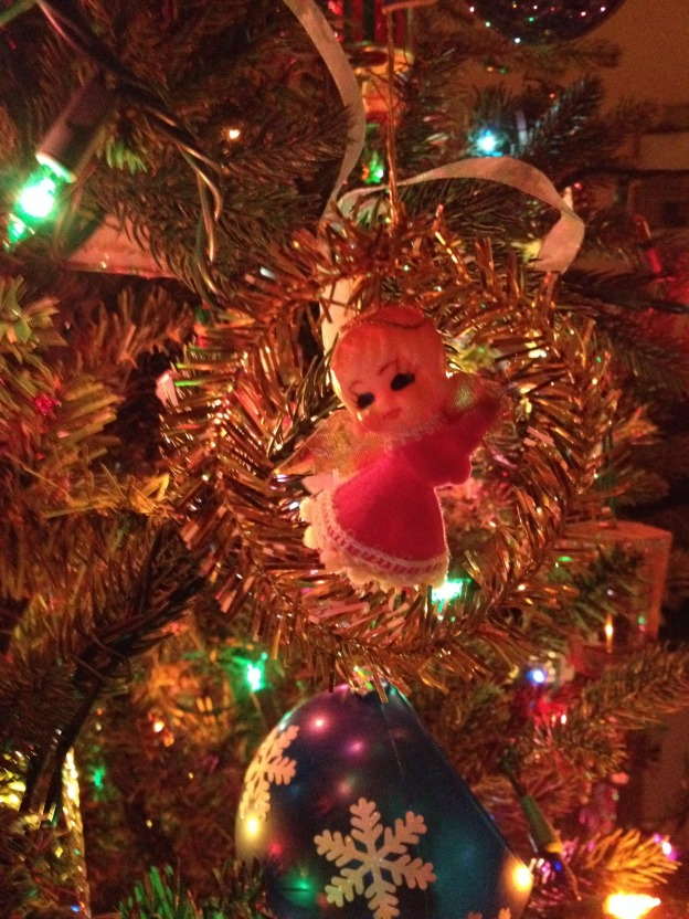Thankful for ornaments and memories.