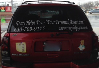 Advertising on Vehicle