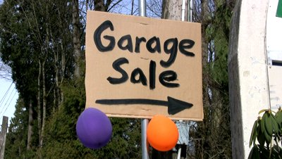 Garage Sale Top 10 Tips
