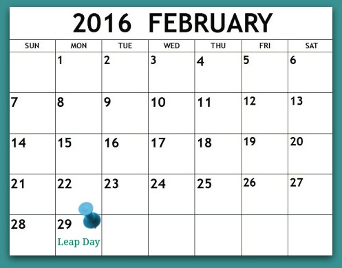 Leap Year Thoughts - Tracy Helps You