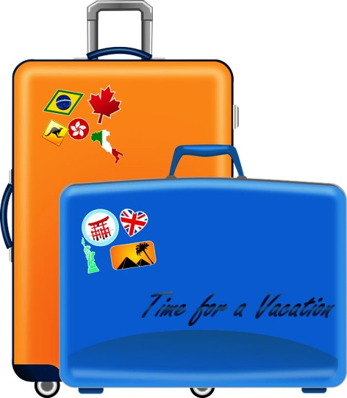 Vacation Suitcases