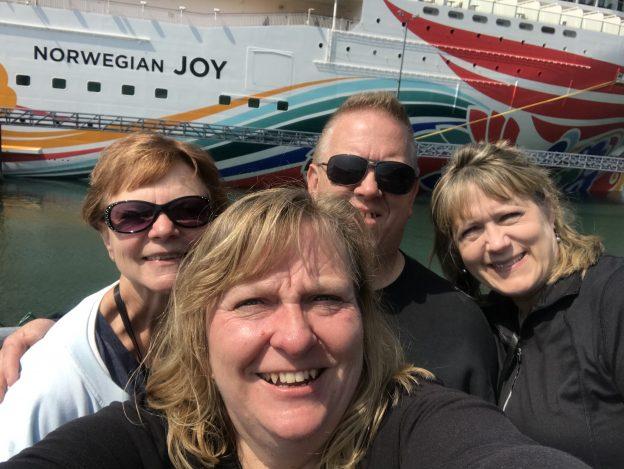 Alaska Cruise Selfie