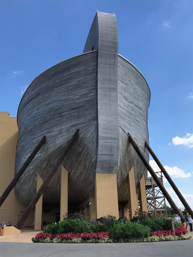 The Ark Encounter was on my travel log this year